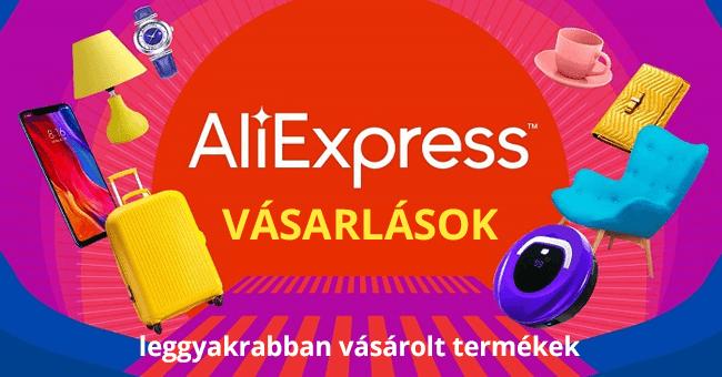 AliExpress vásárlások